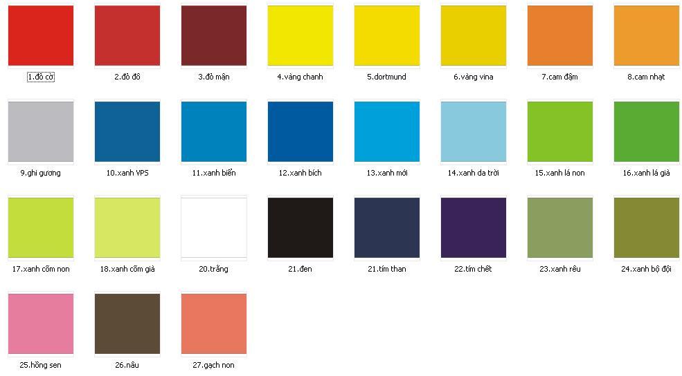 Ý nghĩa màu sắc thiết kế website