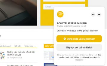 Cách tích hợp Facebook Messenger chat vào WordPress